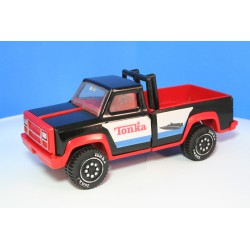 Black and red Tonka pickup