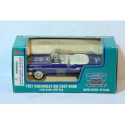 1957 Chevrolet Die Cast Bank