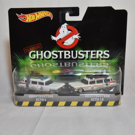 Ecto 1 And Ecto 1a 2 Pack Ghostbusters Hot Wheels Used Action