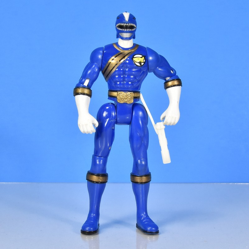 Blue Ranger Power Rangers Wild Force 2003 Used Action